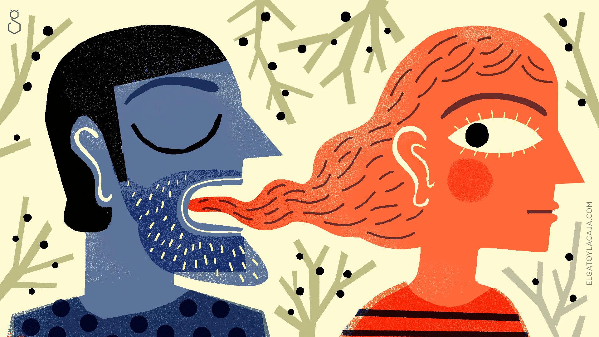 La lengua degenerada
